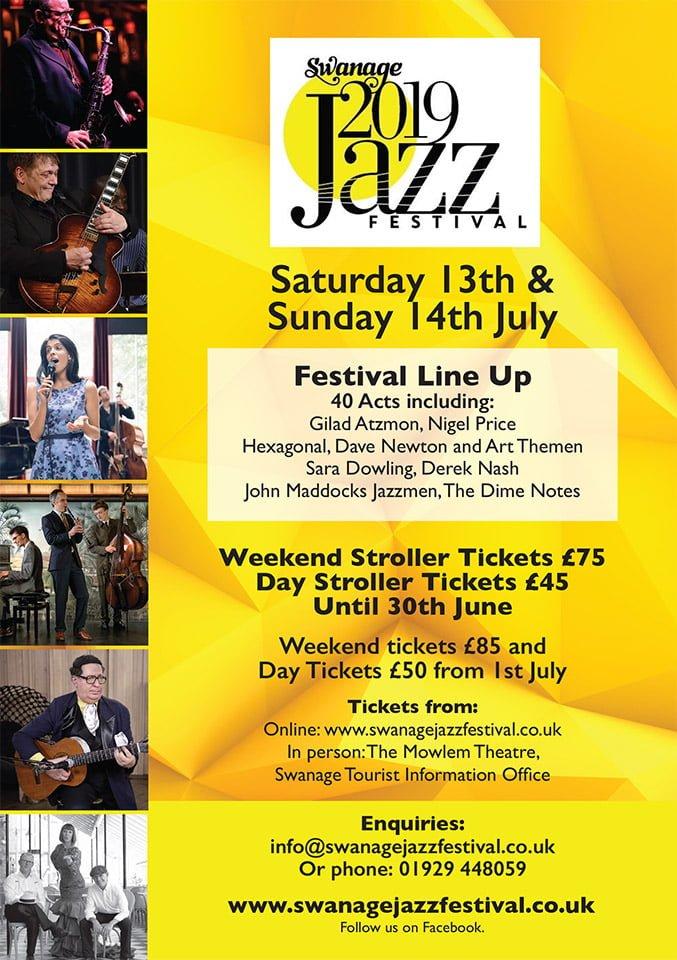 Swanage Jazz Festival 2019 Programme