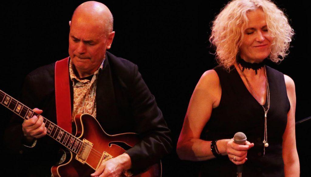 Swanage Jazz Festival   Zoe Schwarz and Rob Koral